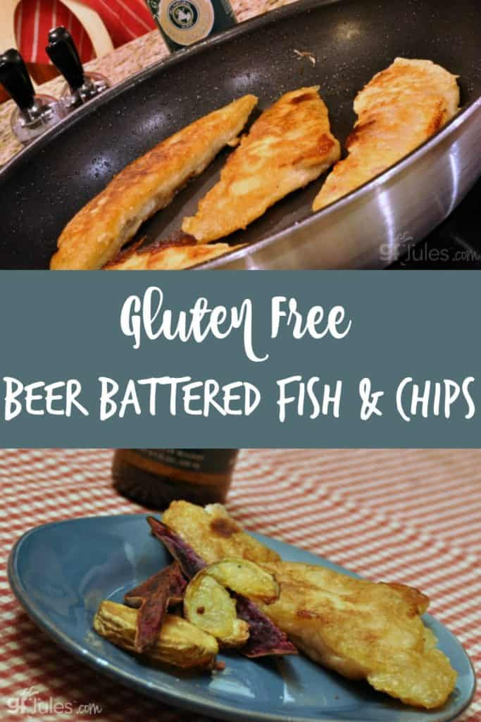 Gluten-Free Beer Battered Fish is sure to please! Light and crisp, this batter will take on some of the flavors of the GF beer you choose, and will liven up any flaky white fish.