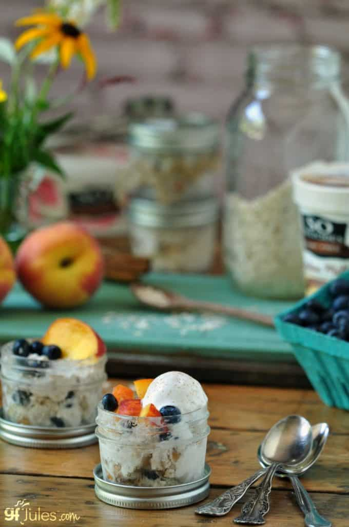 Gluten Free Overnight Oats Dessert with So Delicious