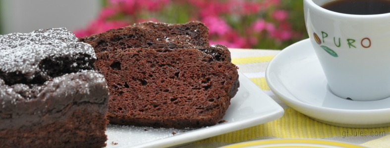 Secret Ingredient Chocolate Coffee Zucchini Bread