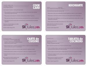 gluten free cook-cards