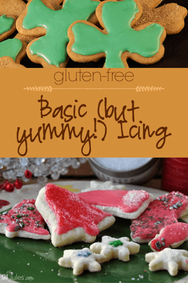 This icing by gfJules is so simple and so delicious!