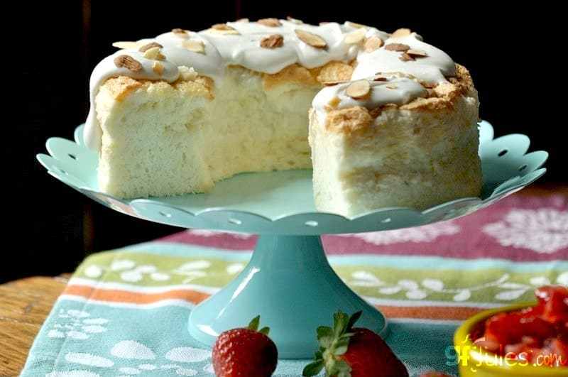 Eggless Angel Food Cake