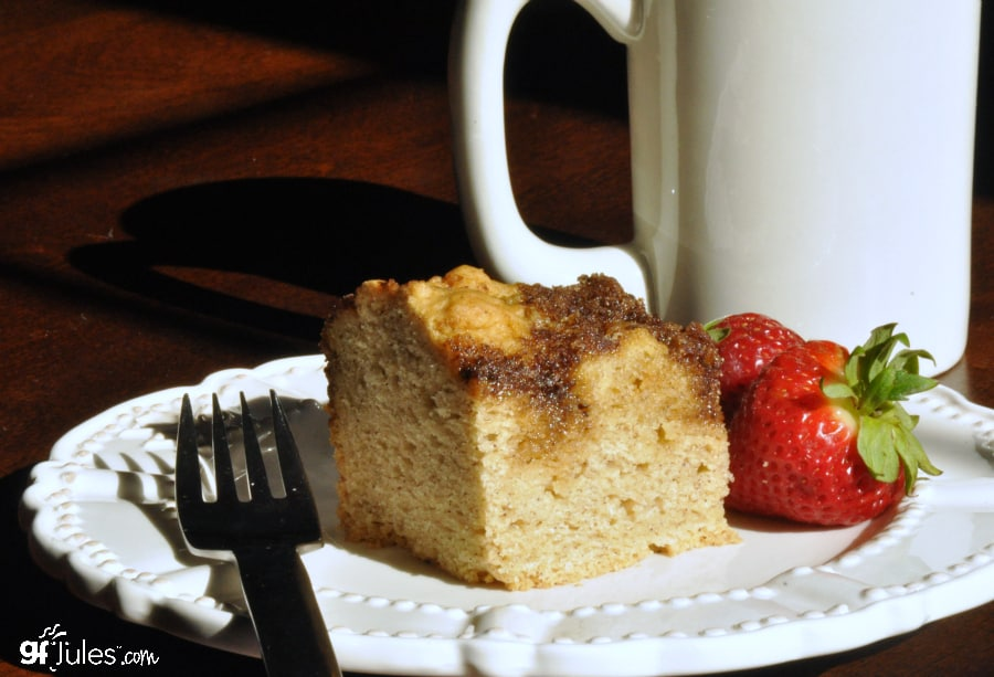 Non Dairy Apple Coffee Cake