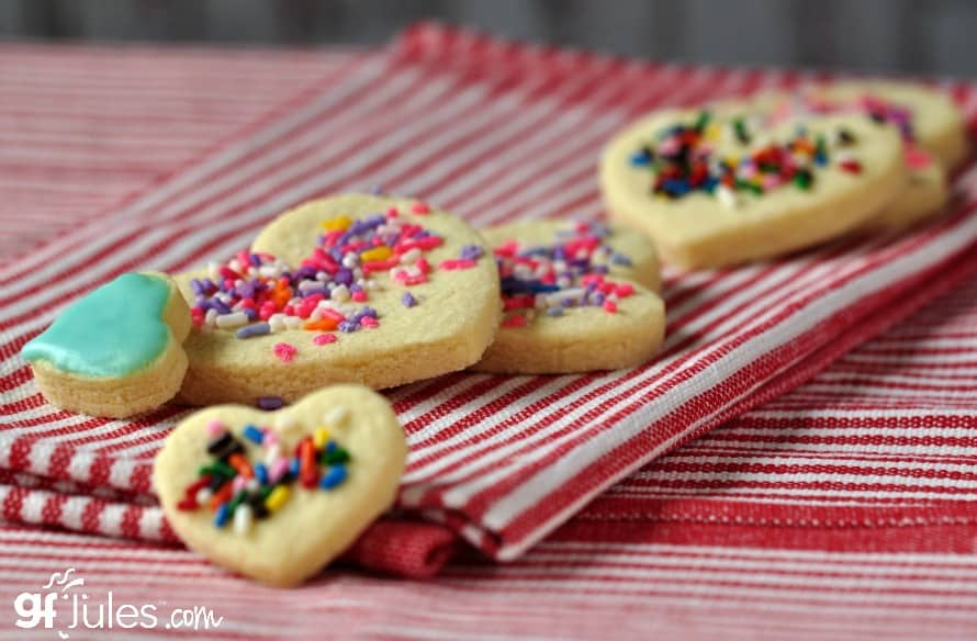 Gluten Free Cut Out Sugar Cookie Recipe