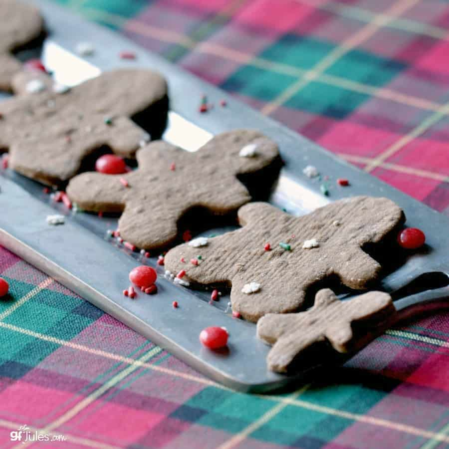 Gluten Free Graham Crackers & Gingerbread Men