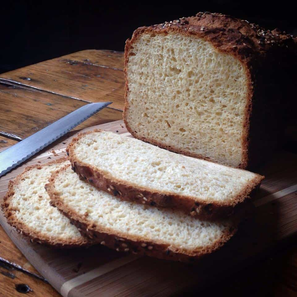 delicious gluten free bread from an easy MIX! Gluten Free White Bread ...