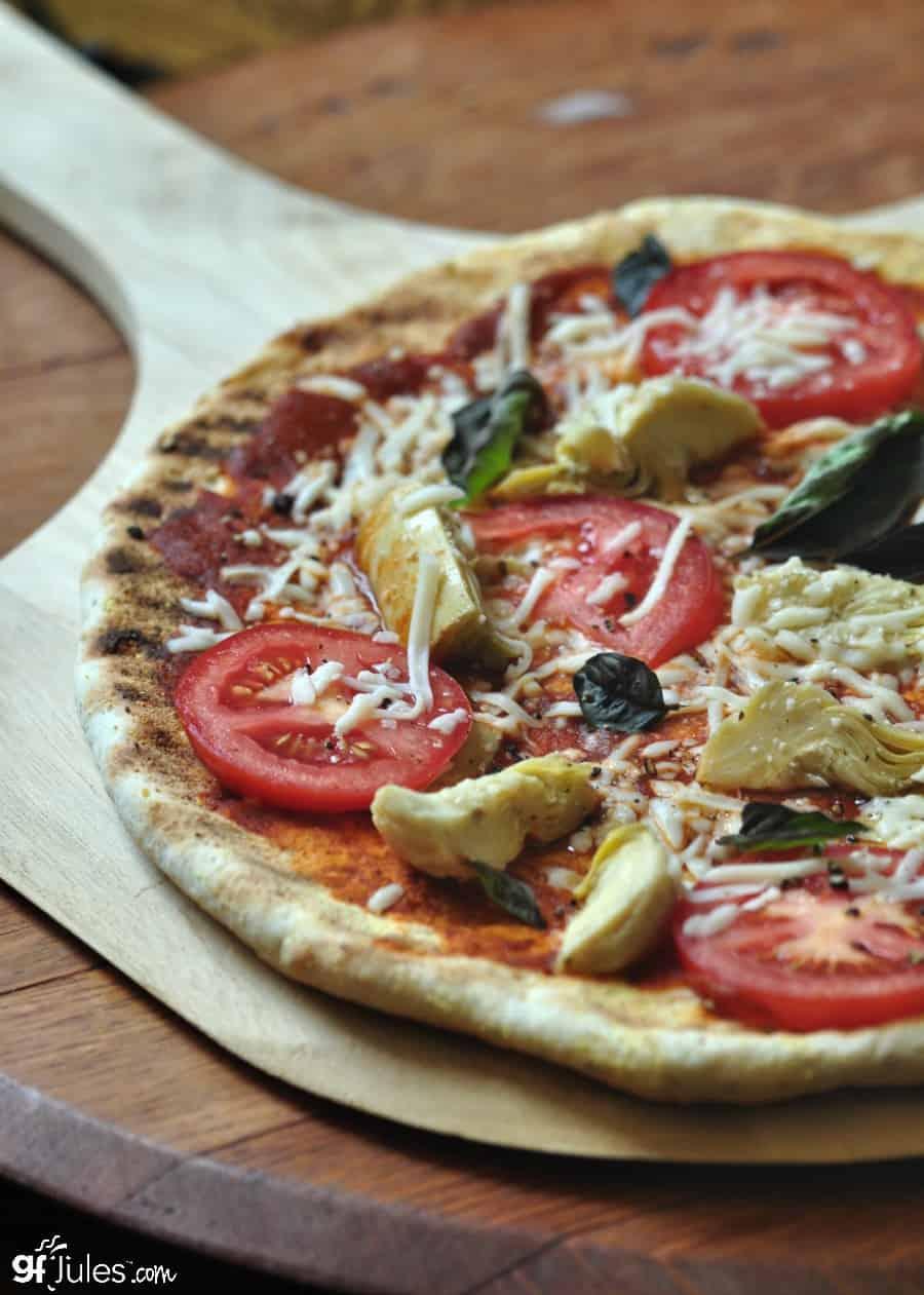gluten free grilled pizza