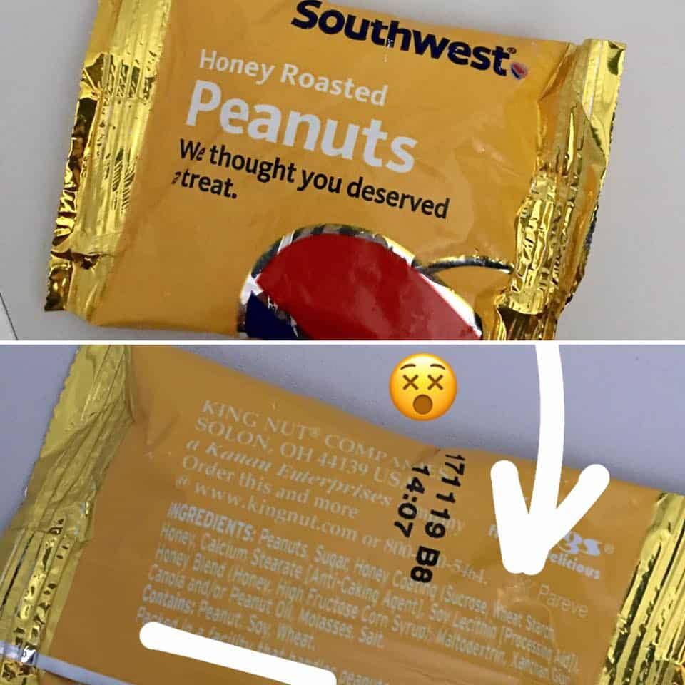 gluten in peanuts? Yep.