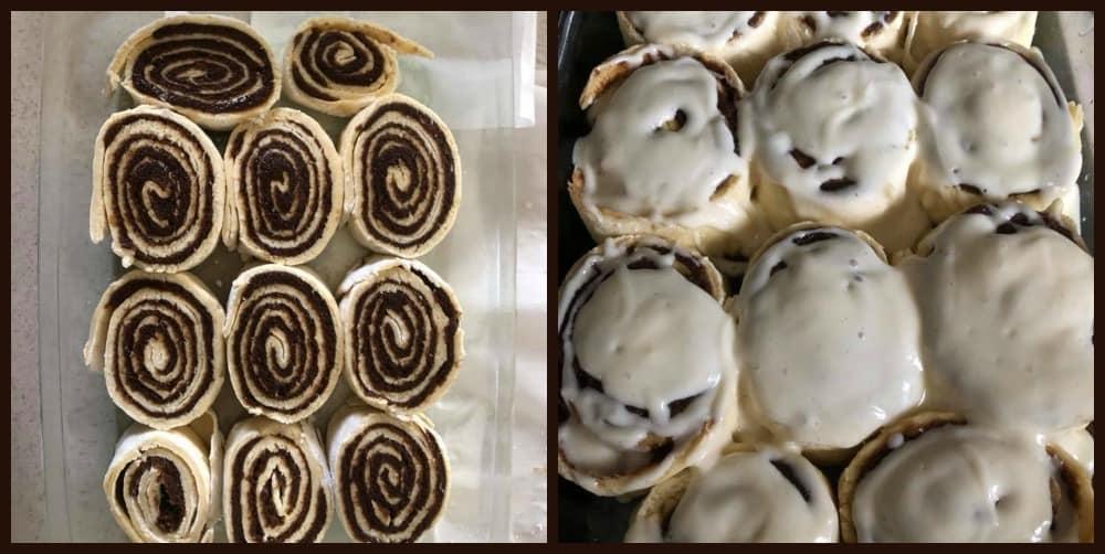 Laura O's cinnamon rolls