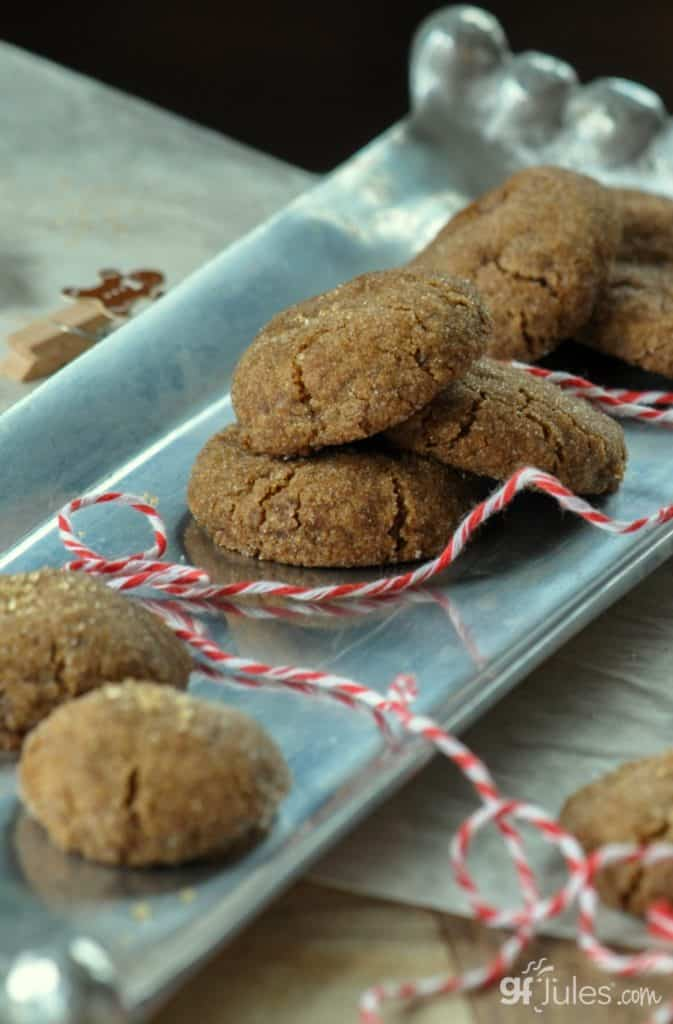 gluten free gingersnaps with string