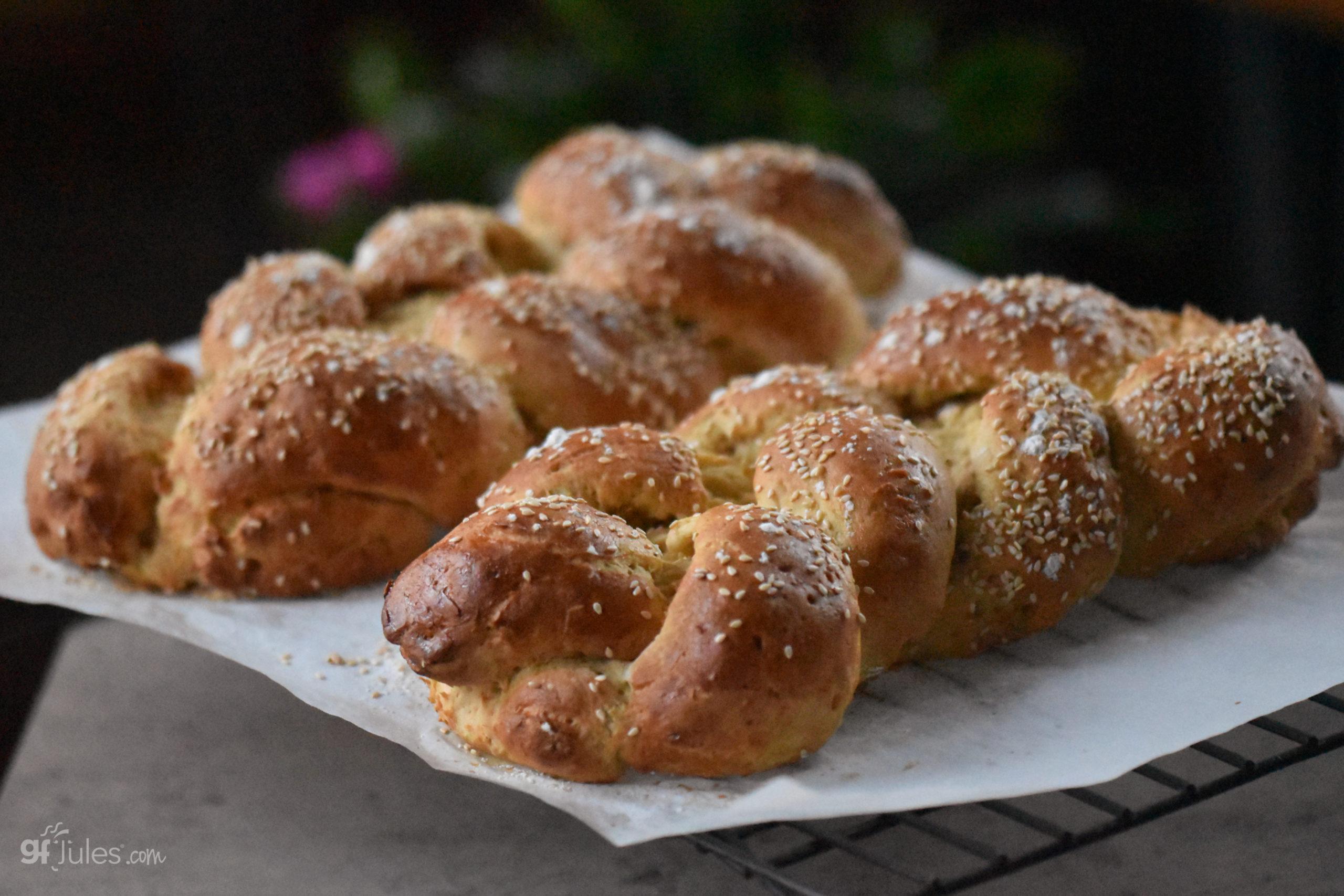 gluten free challah loaves 2021