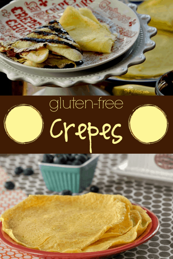 This gluten free crêpes recipe is so easy and so versatile and so delicious, you must have it at your fingertips any time you crave wafer-thin pancakes!