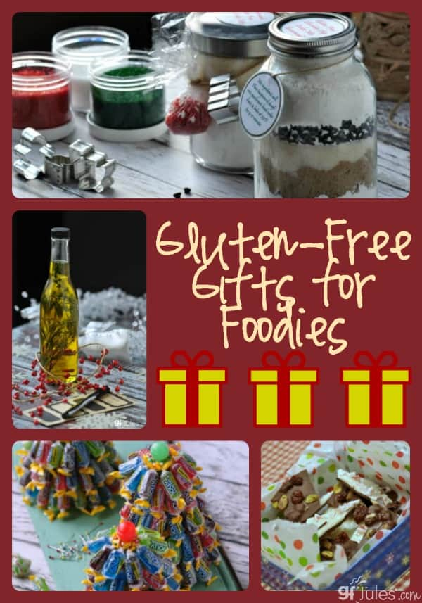 Gluten Free Gifts for Foodies by gfJules