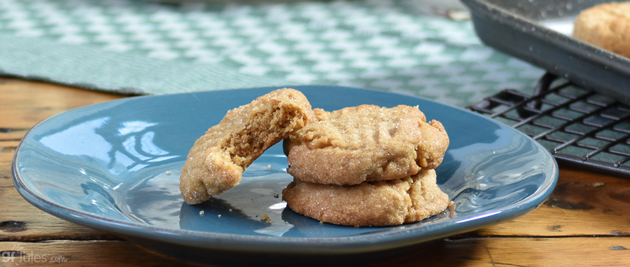 Easy Gluten Free Peanut Butter Cookies from Mix